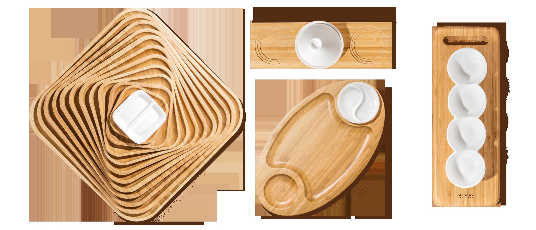 Коллекция из натурального Бамбука Wilmax