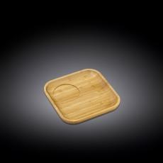 Блюдце квадратное 12,5x12,5 см WL‑771114/A, фото 1
