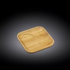 Блюдце квадратное 15x15 см WL‑771115/A, фото 1