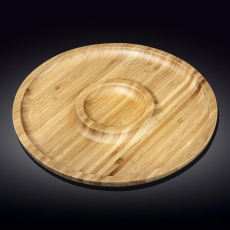 Блюдо 2-хсекционное 45,5 см WL‑771203/A, фото 1