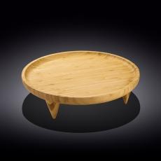 Блюдо круглое на ножках 30,5 см WL‑771229/A, фото 1