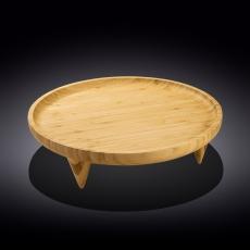 Блюдо круглое на ножках 35,5 см WL‑771230/A, фото 1