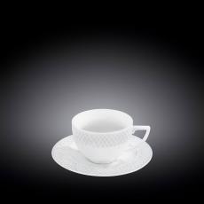Набор из 6-ти чашек для капучино с блюдцами 170 мл WL‑880106‑JV/6C, фото 1