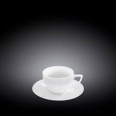 Набор из 6-ти кофейных чашек с блюдцами 90 мл WL‑880107‑JV/6C, фото 1
