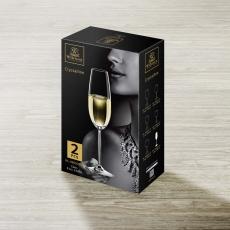Набор из 2-х бокалов для шампанского 230 мл WL‑888005/2C, фото 2