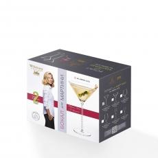 Набор из 2-х бокалов для мартини 200 мл WL‑888106‑JV/2С, фото 2