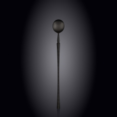 Ложка коктейльная 20,5 см на блистере WL‑999584/1B, фото 1