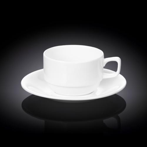 Чашка чайная и блюдце 220 мл WL‑993008/AB, фото 3