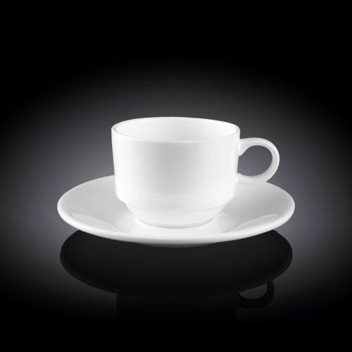 Чашка кофейная и блюдце 140 мл WL‑993039/AB, фото 3