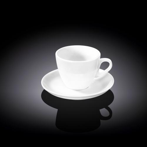 Чашка кофейная и блюдце 75 мл WL‑993173/AB, фото 3