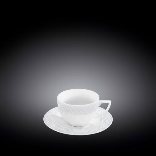 Кофейная чашка и блюдце 90 мл WL‑880107‑JV/AB, фото 3