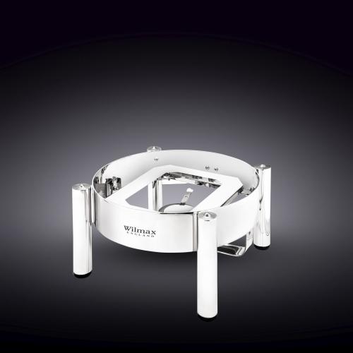 Подставка для мармита круглая 38x38x20 см WL‑559936/A, фото 3